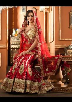 Attractive Beige Color Lehenga Choli