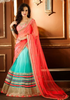 Beautiful Lehenga Choli In Net Material