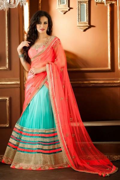 Beautiful Lehenga Choli In Net Material 1