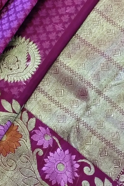 Pure Silk Kanchipuram Saree 1