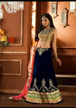 Awesome Wedding Wear Lehenga Choli In Dual Color
