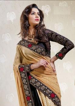 Stunning Beauty Designer Saree