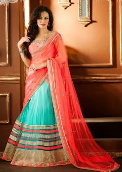 Beautiful Lehenga Choli In Net Material