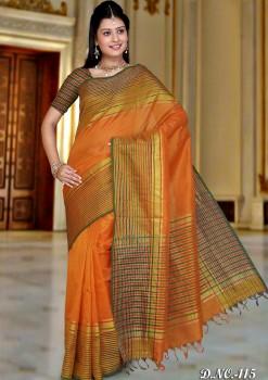 Pure Silk Cotton Designer Saree